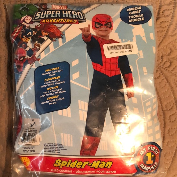 2T Spider-Man Costume